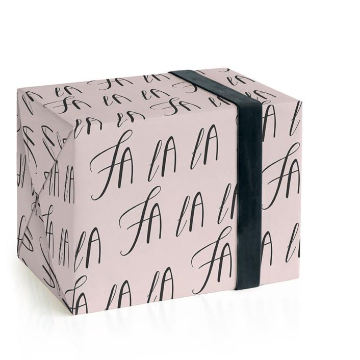 Fa La La Wrapping Paper
