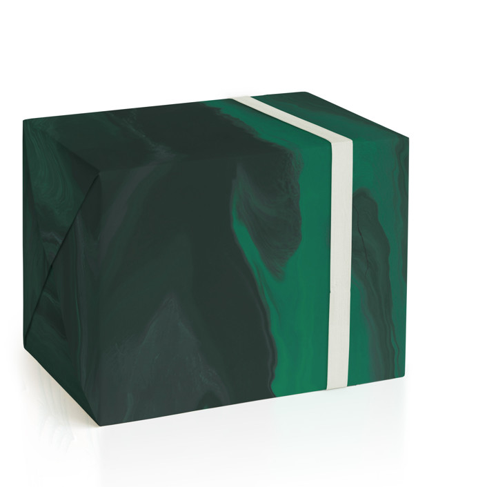 Shades of Emerald Wrapping Paper