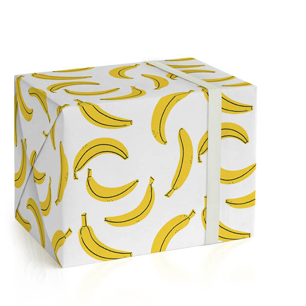 Simply Bananas Wrapping Paper