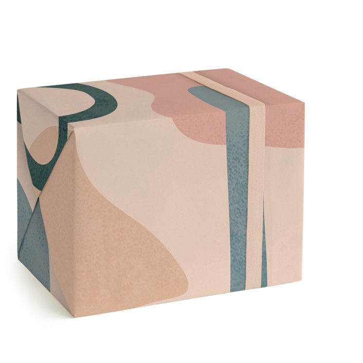 Desert Abstract Wrapping Paper