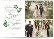 A Little Married Grand Holiday Cards