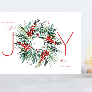 Gathered Grand Holiday Cards