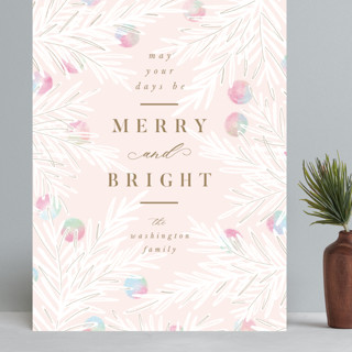 Bright Berries Grand Holiday Cards