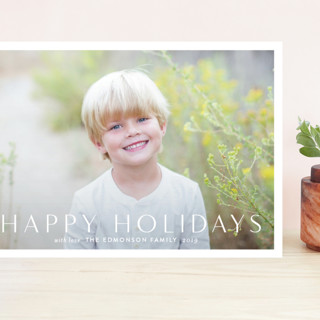 Simply Grand Holiday Cards
