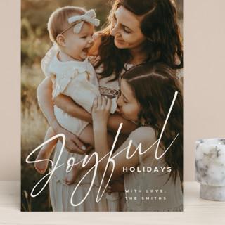 Joyful New Year Grand Holiday Cards
