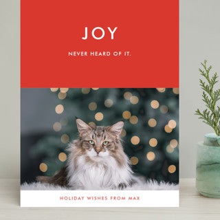 never heard of it Grand Holiday Cards