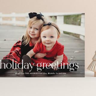 Timeless Christmas Grand Holiday Cards