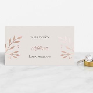 Vineyard Foil-Pressed Place Cards