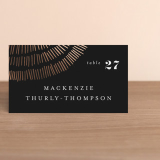 Tile Foil-Pressed Place Cards