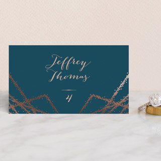 Starcrossed Foil-Pressed Place Cards