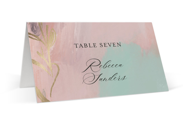 Impressions Foil-Pressed Place Cards