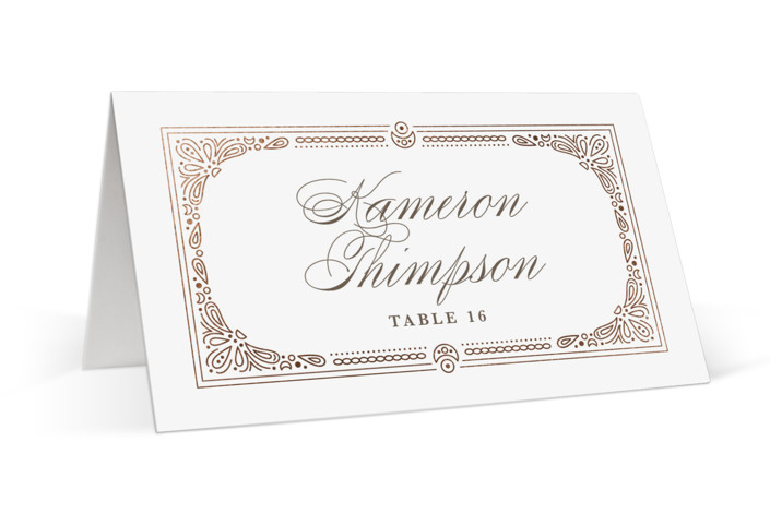 Adorn Foil-Pressed Place Cards