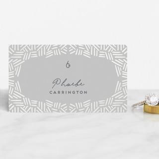 Confetti Frame Gloss-Press™ Place Cards