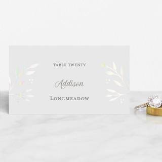 Vineyard Gloss-Press™ Place Cards
