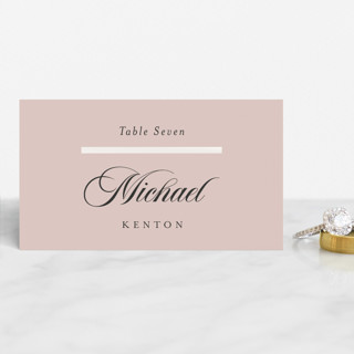 Classic Bars Gloss-Press™ Place Cards