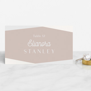 Radiant Frame Gloss-Press™ Place Cards