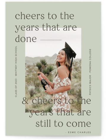 Cheers Graduation Announcements