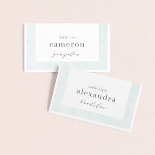 Caliza Wedding Place Cards