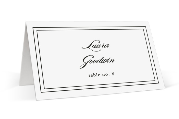 Eloquence Place Cards