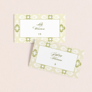 Sloane Wedding Place Cards