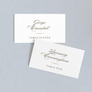 Valencay Wedding Place Cards