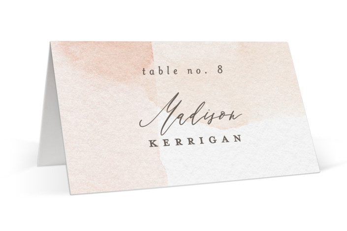 Sloped Place Cards