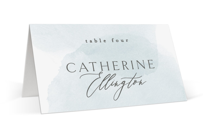 Softly Layered Place Cards