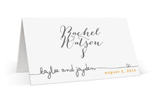 The Happy Couple Wedding Place Cards
