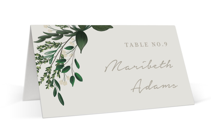 Watermark Place Cards