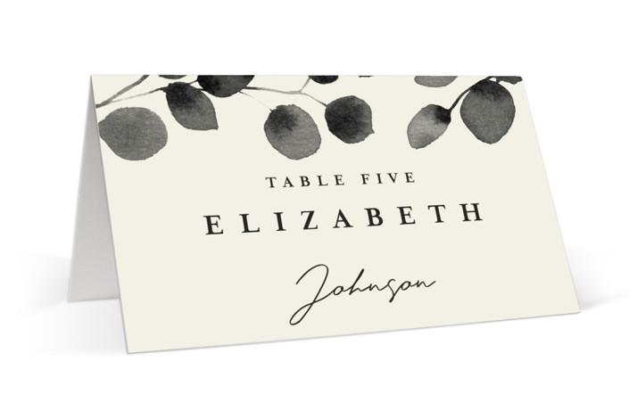 Silver Dollar Eucalyptus Place Cards