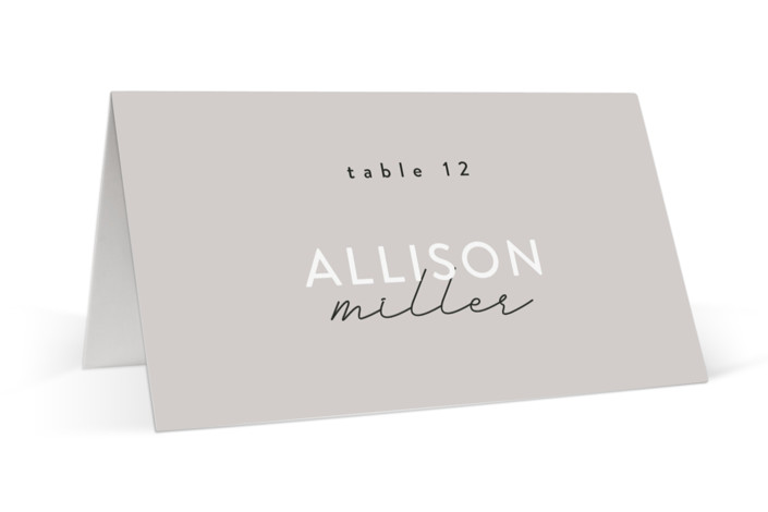 Styled Place Cards