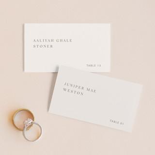 Juniper Wedding Place Cards