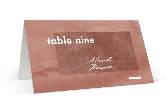 Contemporary Place Cards