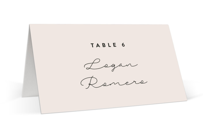 Just the Two of Us Place Cards