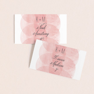 Bliss Wedding Place Cards