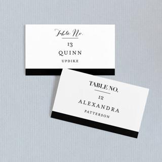 The Minimalist Wedding Place Cards