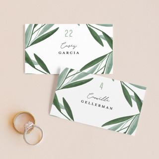 Oliviers Wedding Place Cards