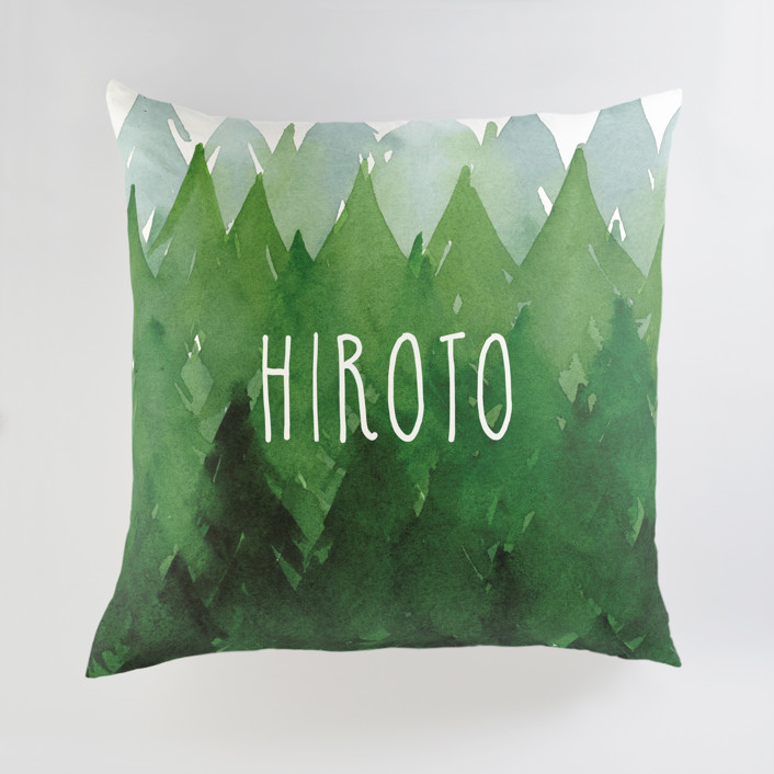 Forest Personalized Floor Pillows