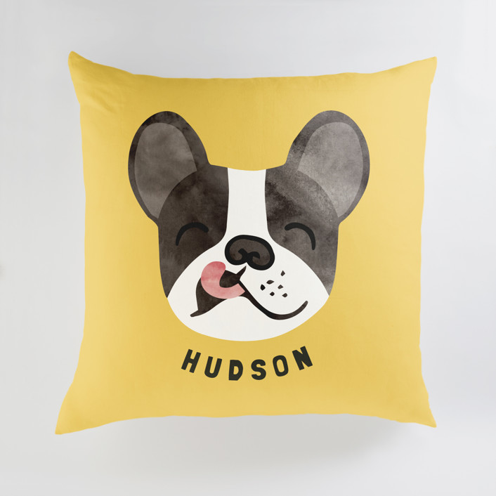 Little Pup Personalized Floor Pillows
