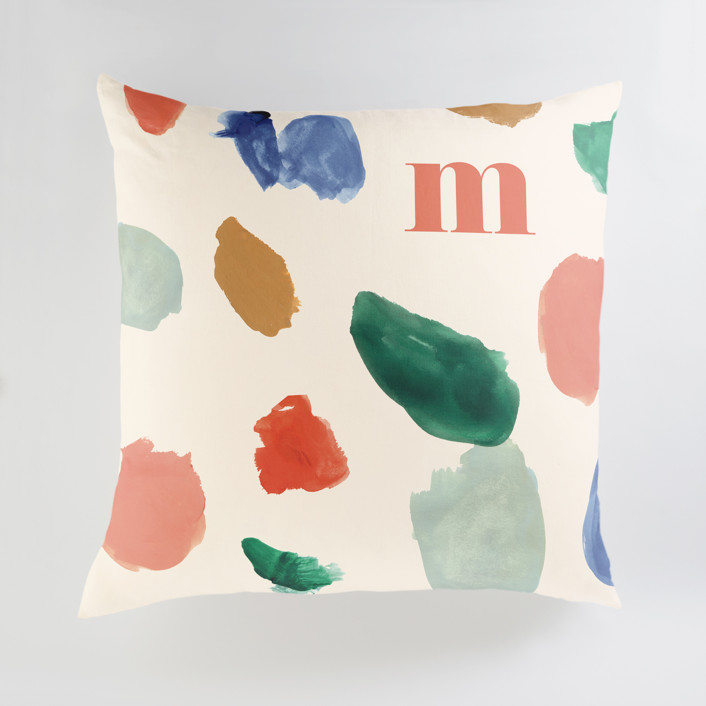 A Painter's Reverie Personalized Floor Pillows