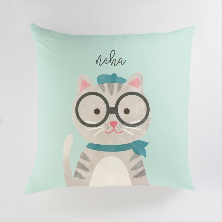 Bonjour Personalized Floor Pillows
