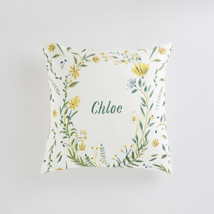 Cheerful Blessing Personalizable Pillows