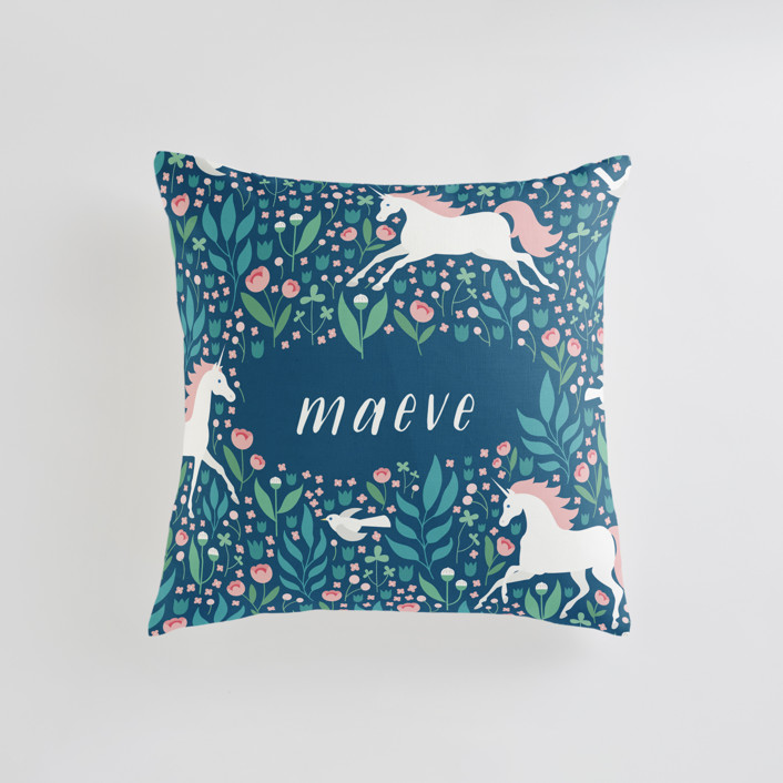Magical Garden Personalizable Pillows