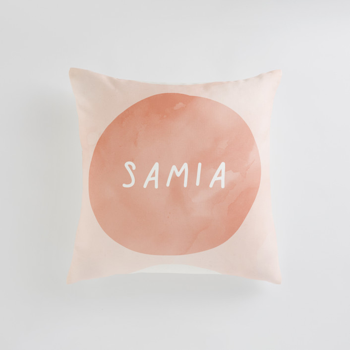 Spring Sun Personalizable Pillows
