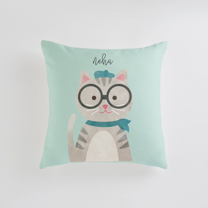 Bonjour Personalizable Pillows