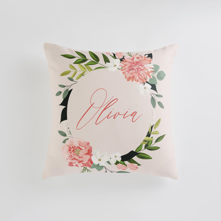 Summer Shower Personalizable Pillows