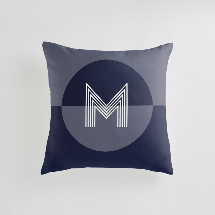 Mod Circle - Cool Personalizable Pillows