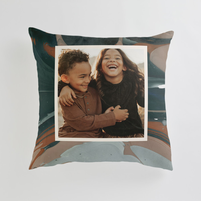 Love Story Large 24 Inch Photo Pillow