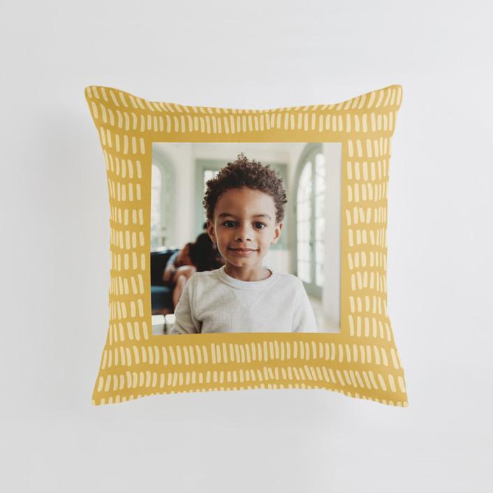 Division Medium Square Photo Pillow