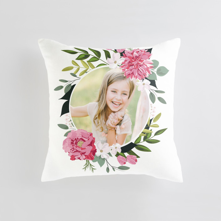 Summer Shower Medium 20 Inch Photo Pillow